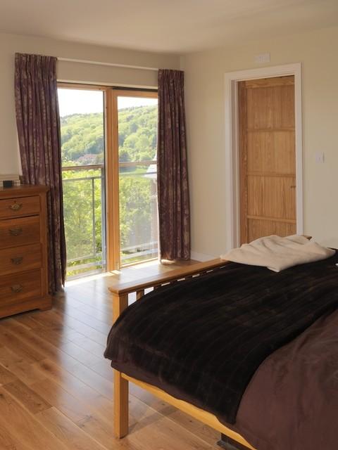 Bristol, Contemporary Conversion traditional-bedroom
