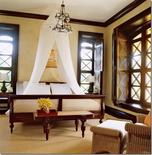 British Colonial Design Ideas tropical bedroom