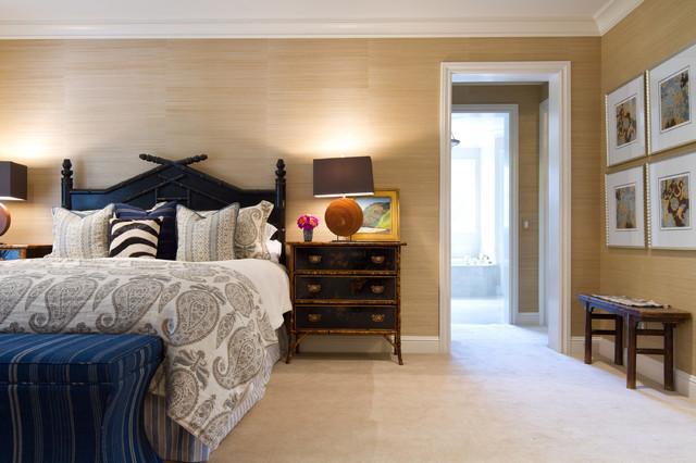 british colonial in pasadena traditional bedroom los