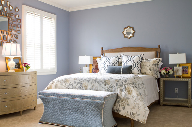 British Colonial In Pasadena Traditional Bedroom Los