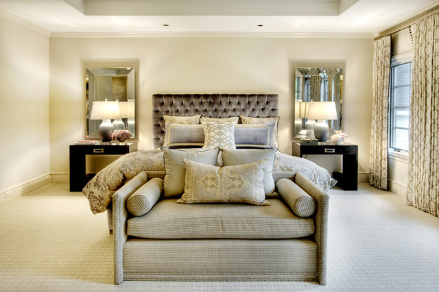 Brito master bedroom traditional bedroom houston for Traditional master bedroom designs
