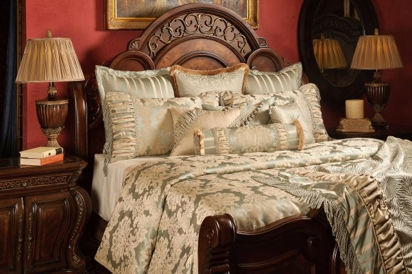 Brittany duvet set traditional bedroom salt lake city by k r interiors for Bedroom furniture salt lake city