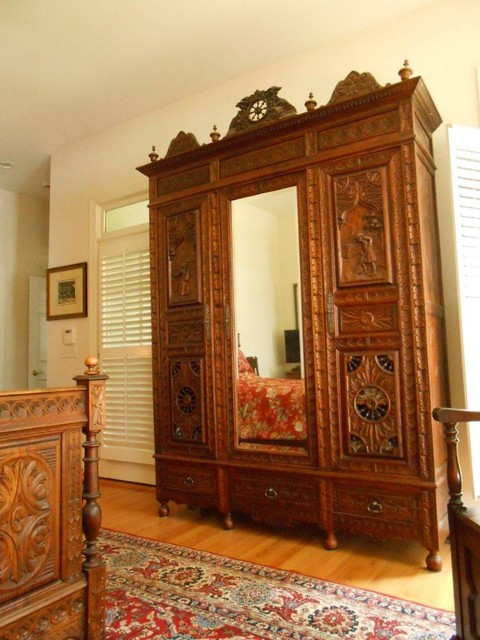 Brittany style bedroom in chapin sc with antique french for French antique bedroom ideas