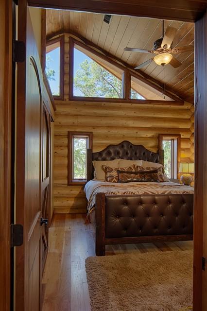Broken Bow Ok Rustic Bedroom Dallas By