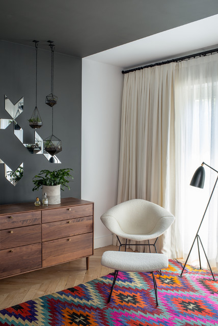 Brooklyn Brownstone Contemporary Bedroom Portland by Jessica