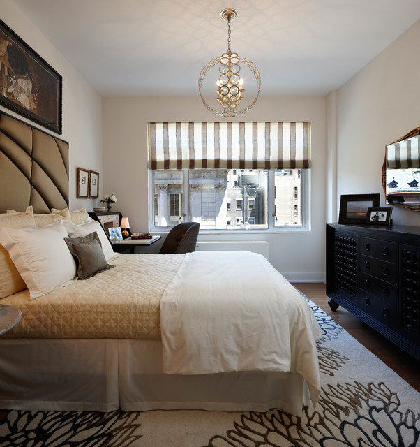 Transitional Bedroom Decor: Brooklyn Heights Eclectic, Transitional Design + Furnish