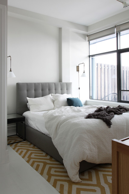 Brooklyn penthouse contemporary bedroom new york for Brooklyn bedroom ideas