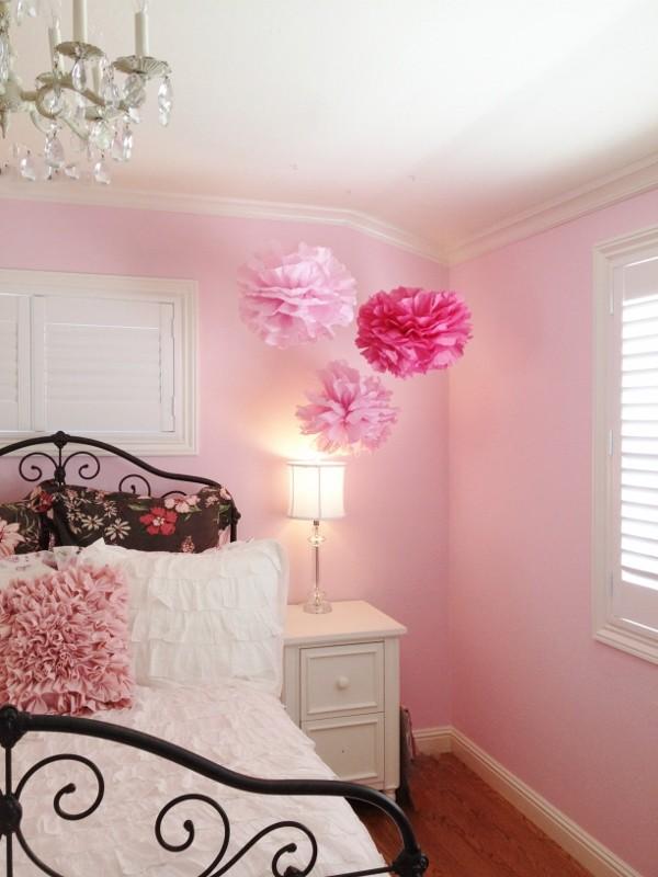 Pink Brown Girls Room Houzz