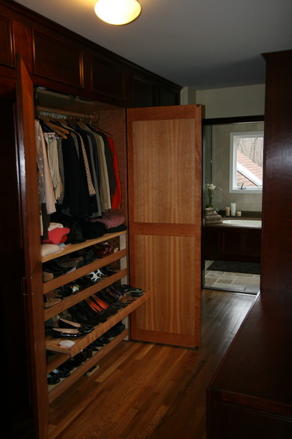 built in cabinets traditional bedroom by mayne construction llc