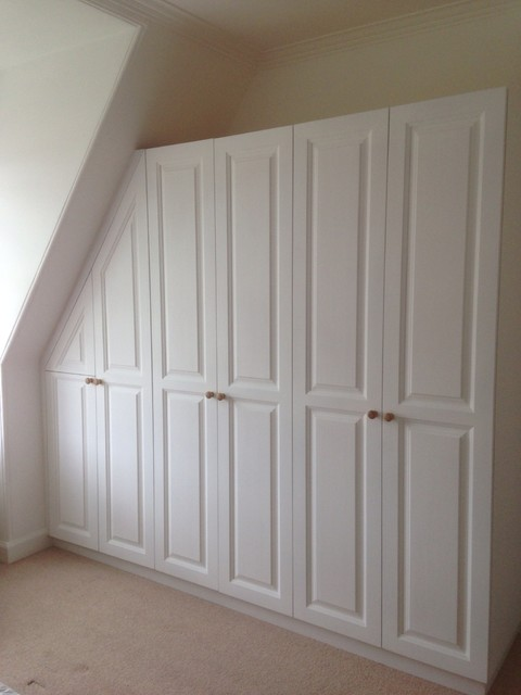 Built In Cupboards Craftsman Bedroom Glasgow By