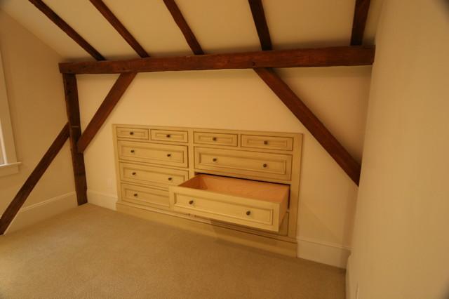 Built in Dresser Cabinet - Traditional - Bedroom - Philadelphia ...