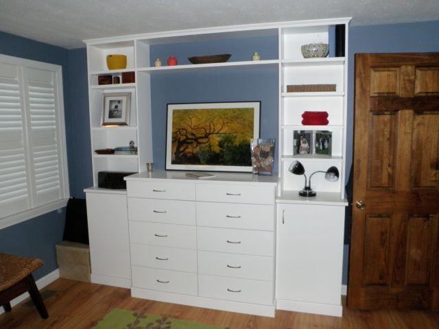 Built In Dresser Traditional Bedroom Portland Maine