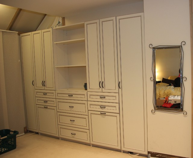 Built In Storage Cabinets Traditional Bedroom Other By Tailored Living