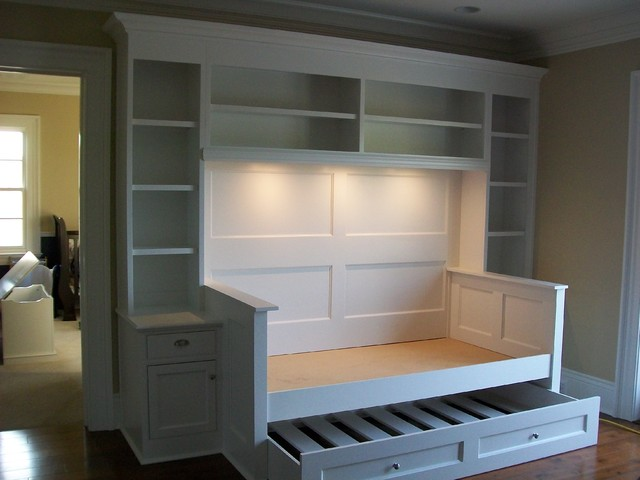 Built In Trundle Bed