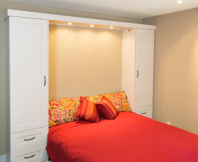 Built-in Wall Bed traditional-bedroom