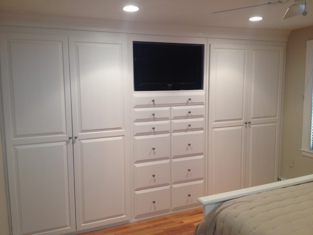 Built Ins Traditional Bedroom Boston By Brosseau