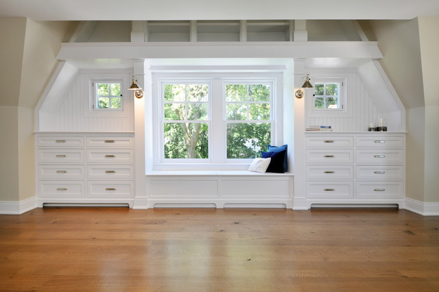 Built Ins In Master Bedroom Traditional Bedroom
