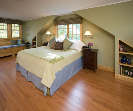 Bungalow Master Suite Second Story Dormer Addition Craftsman Bedroom New York By Clawson