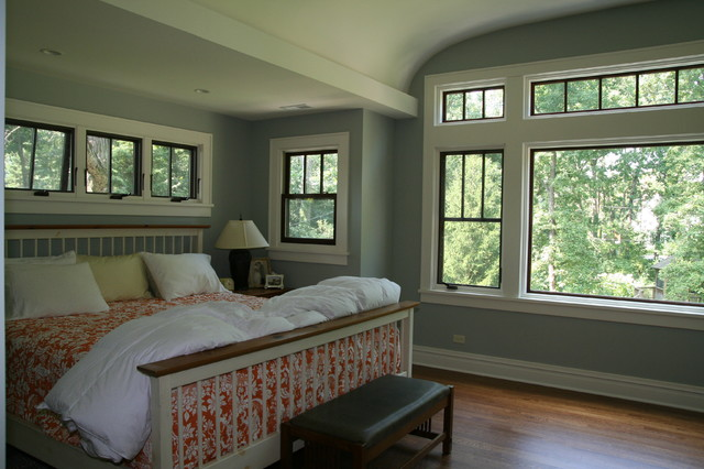 Bungalow renovation and addition traditional bedroom chicago by cory smith architecture Bungalow master bedroom addition