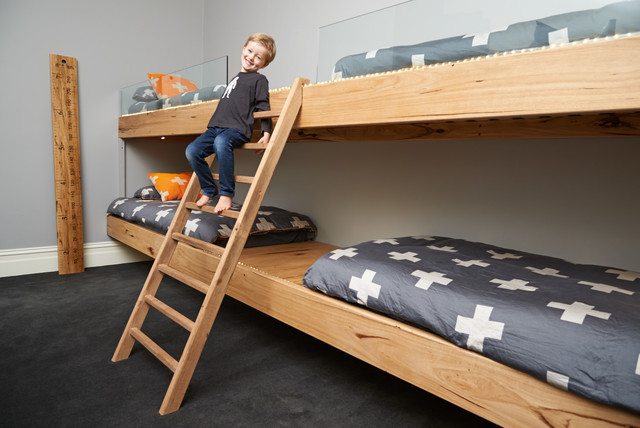 Bunk Beds Contemporary Bedroom Melbourne By Mister