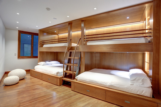 Bunk Beds Contemporary Bedroom Denver By Zone 4 Architects Llc