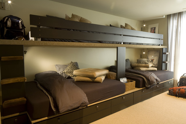 Bunk Room contemporary-bedroom