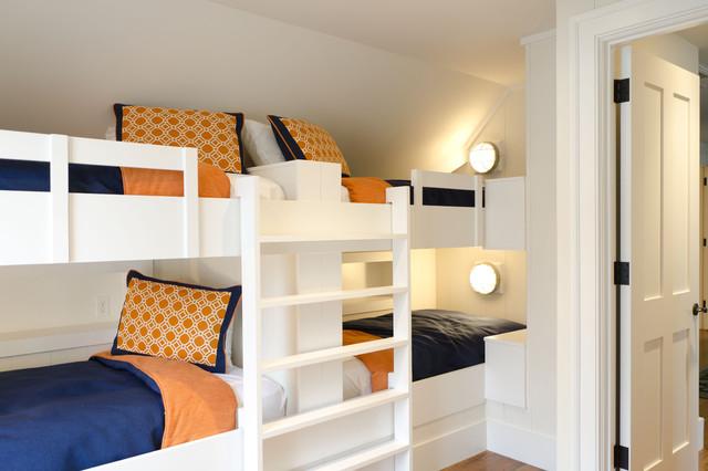 Bunk Room traditional-bedroom