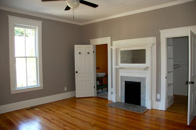 Burch Avenue restoration traditional-bedroom
