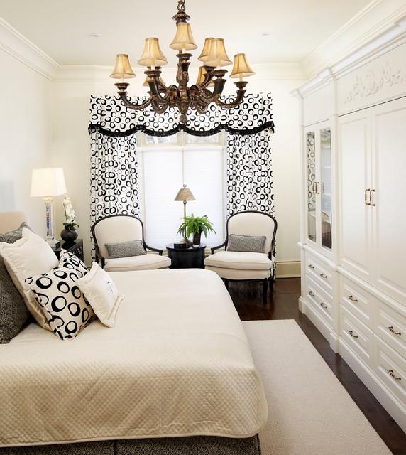 burlington residence transitional bedroom
