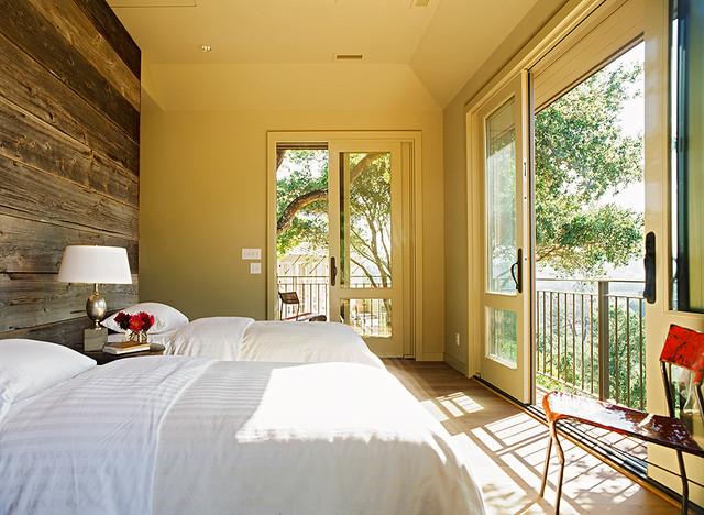 Burwell Residence Transitional Bedroom San Francisco