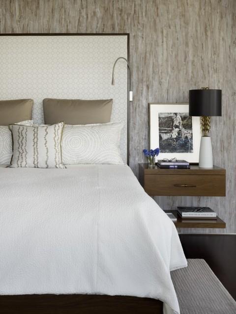 Bush Street contemporary-bedroom