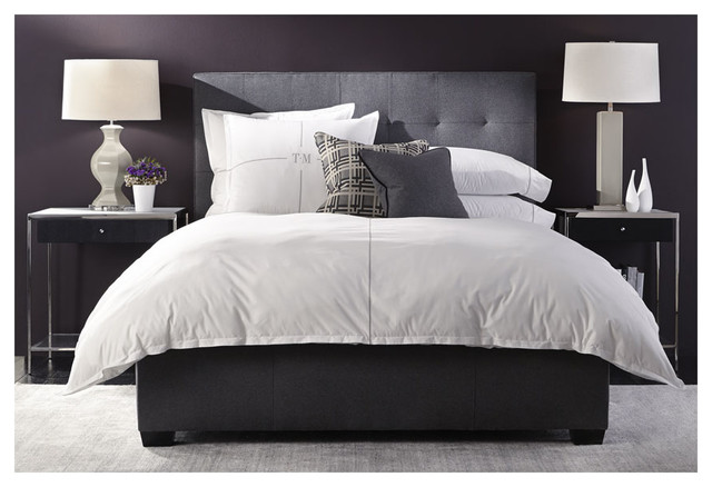 Butler Bed And Manning Night Stands Modern Bedroom Charlotte By Mitchell Gold Bob Williams