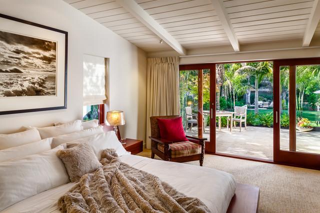 Butterfly beach villa midcentury bedroom santa for Luxe decor llp