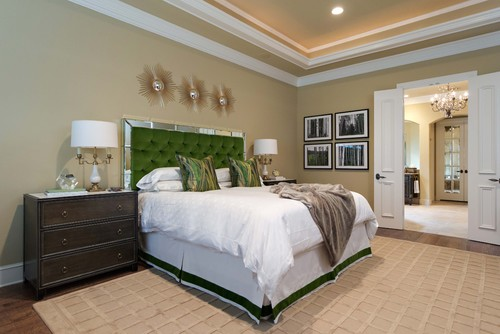 Contemporary Bedroom by Dallas Interior Designers & Decorators Emily Johnston Larkin