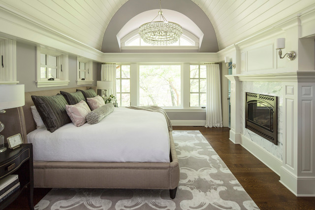 bywood street residence transitional bedroom