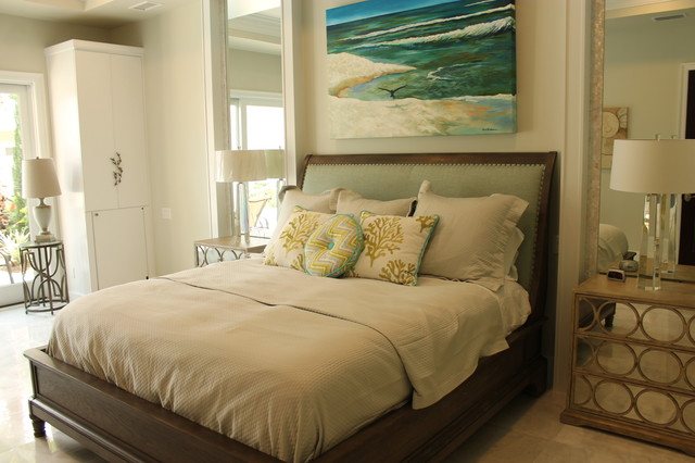 Cabana & Guest House - Beach Style - Bedroom - Miami - by Dixon ...