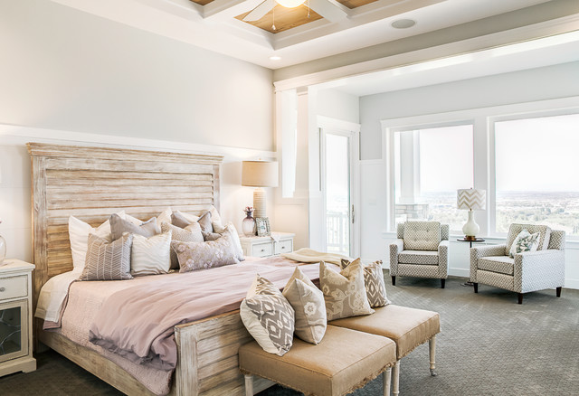 Cadence Homes Transitional Bedroom Salt Lake City