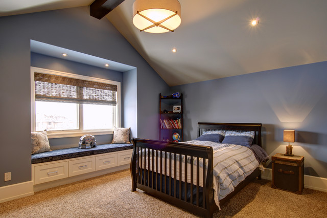 Calgary's Country Chic Living traditional-bedroom