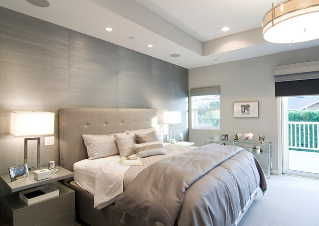 California Cape Cod In Brentwood Modern Bedroom Los