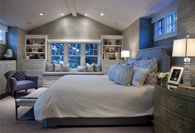 California Cape Cod Traditional Bedroom San Diego