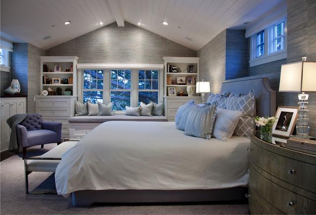 California Cape Cod - Traditional - Bedroom - San Diego - by Lori ...
