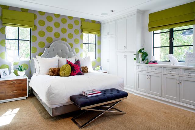 California Family contemporary-bedroom