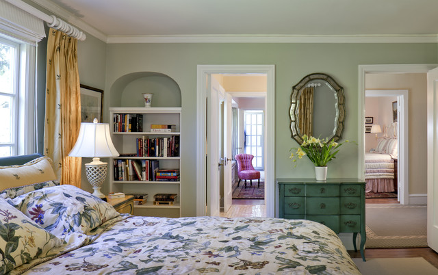 California tudor style residential remodel traditional for Tudor style bedroom