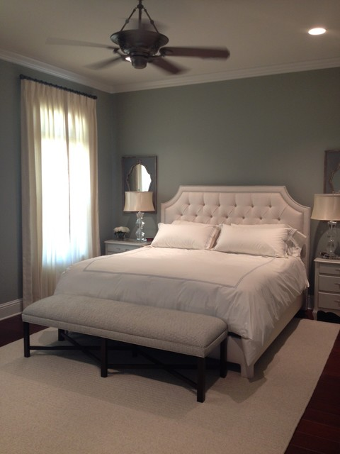 Calm And Serene Bedroom Transitional Bedroom