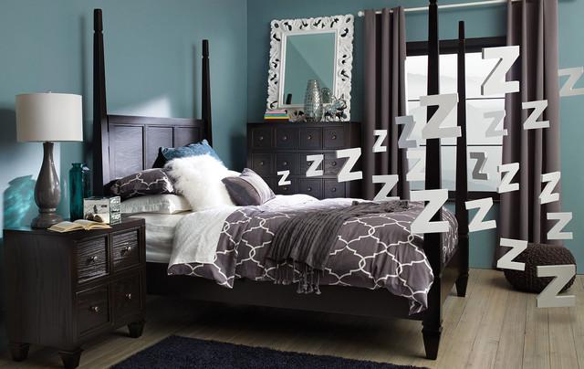 Calypso Bedroom Contemporary Bedroom Other By Urban Barn