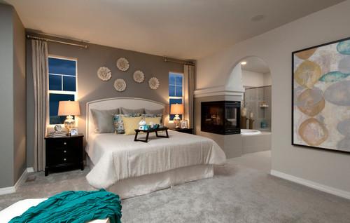 4 dicas de cores para quartos de casal FinoCrédito  ~ Cores Neutras Quarto
