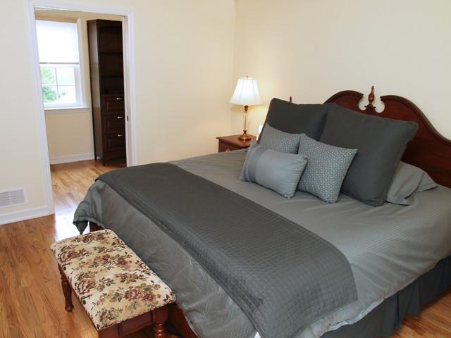 canonsburg addition first floor master suite modern bedroom