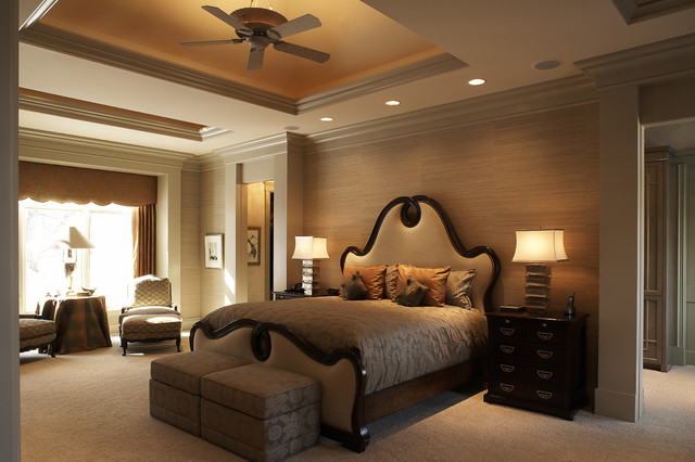 Cantera Elegance Traditional Bedroom Minneapolis By SKD