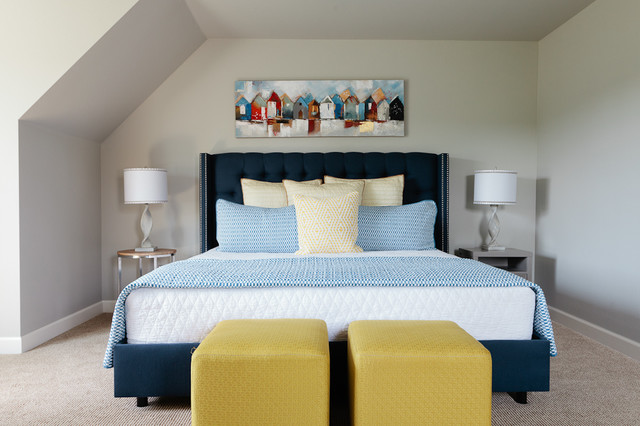 Cape cod chic beach style bedroom other by the design shoppe - Cape cod style bedroom image ...