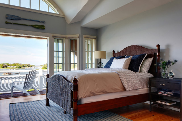 Cape cod home traditional bedroom boston by chelle design group - Cape cod style bedroom image ...